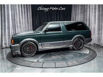 1992 gmc typhoon twin-turbo ls-1100+ horsepower!