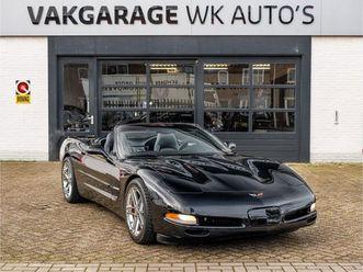 chevrolet corvette 5.7 convertible | triple black | handgeschakeld |