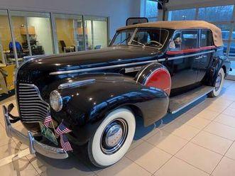 1940 buick 81 limited convertible phaeton model81c