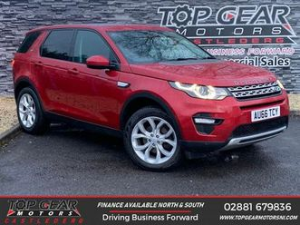 2016 land rover discovery sport 2.0td4 hse (180ps) (s/s) auto - £19,350