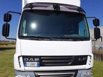 daf 45.180 furgone in lega con sponda