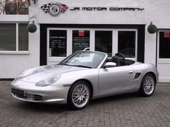 porsche-boxster-24v-3-2-s-manual-arctic-silver-huge-spec-only-77000-miles-2003