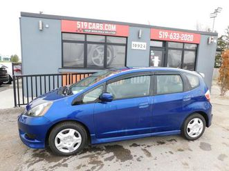 used 2013 honda fit sport|bluetooth|ac|power package