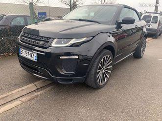 range rover evoque cabriolet td4 180 10cv limite black edition