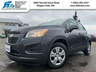 2016 chevrolet trax ls bluetooth,one owner,auto,a/c | cars & trucks | st. catharines | kij