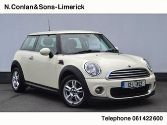mini one 1.6 3dr for sale in limerick for €9,950 on donedeal
