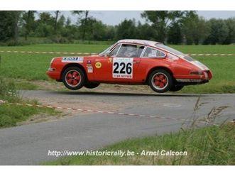 vendo porsche 911 rally 2.0 anno 1965