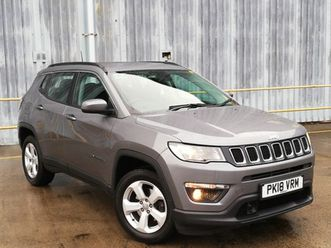 used 2018 (18) jeep compass 1.4 multiair 140 longitude 5dr [2wd] in dunfermline