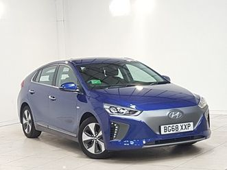 used-2018-68-hyundai-ioniq-electric-hatchback-88kw-electric-premium-28kwh-5dr-auto-in-ed