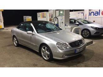 2003 mercedes-benz clk 2.6 clk240 avantgarde cabriolet auto