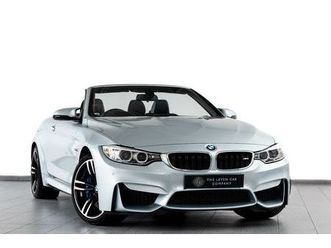 2016 bmw 4 series 3.0 m4 (431bhp) (s/s) convertible m dct - £37,450