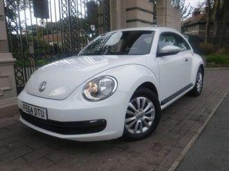 2014 volkswagen beetle 1.6tdi cabriolet 2d - £8,995