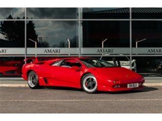 used 1991 lamborghini diablo 5.7 coupe in rosso for sale | carsite