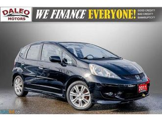used-2011-honda-fit-lx-accident-free-low-miles-usb-input