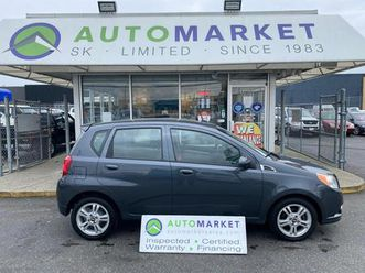 used 2010 chevrolet aveo5 lt hatchback auto pwr. group! free bcaa & wrnty!