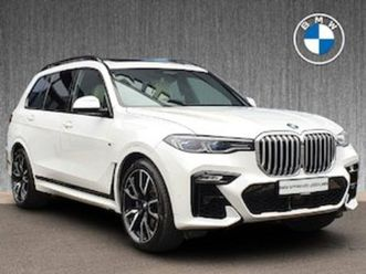 bmw x7 xdrive30d m sport for sale in dublin for €97500 on donedeal