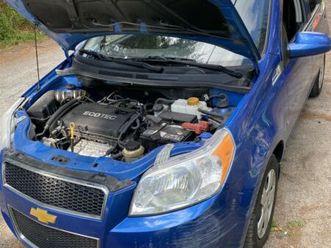 chevrolet aveo 5 2009   cars & trucks   laurentides   kijiji