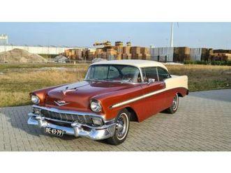 chevrolet 1956 bel air 2 door hardtop coupe mit tuv und h