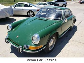 porsche 912 coupe im schönen irischgrün