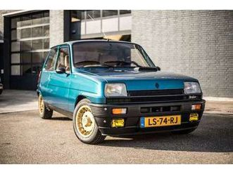 renault r 5 renault 5 alpine turbo
