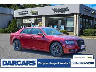 brand new red color 2021 chrysler 300 touring for sale in waldorf, md 20601. vin is 2c3cca