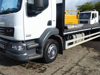 2012 daf lf 55-220 beaver-tail truck for sale in antrim for £5 on donedeal