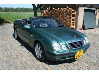 mercedes 320 clk / cabriolet in nieuwstaat