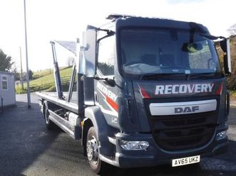 daf lf55-180, 2015 25ft tilt & slide recovery lorr for sale in down for £47,750 on donedea