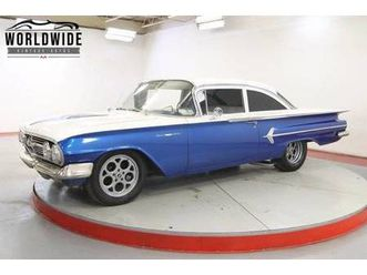 1960 chevrolet bel air for sale