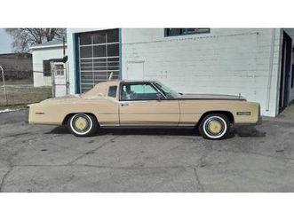 1978 cadillac eldorado biarritz custom classic