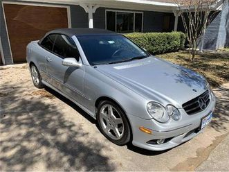 for sale: 2007 mercedes-benz clk-class in cadillac, michigan