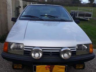 renault fuego turbo essence - 1983