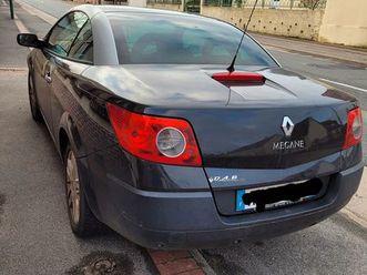 renault megane cabriolet 1.9 dci exception