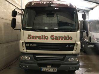 daf - lf 55. camión basculante