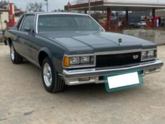 chevrolet caprice coupe 5,7l