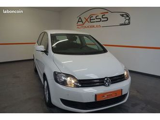 volkswagen golf plus 1.6 tdi 105ch bluemotion technology fap confortline
