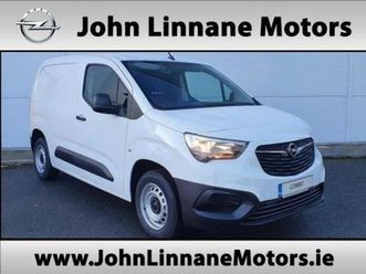 opel combo edition l1h1 1.5 75ps for sale in wicklow for €18,645 on donedeal