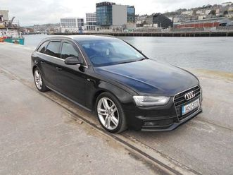 audi a4 2.0 tdi s-line avant for sale in cork for €14,990 on donedeal