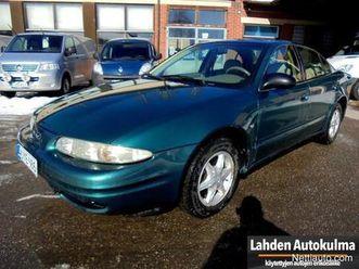 chevrolet alero 2.4i automatic 4d sedan porrasperä 1999 - vaihtoauto - nettiauto
