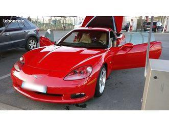 belle-corvette-c6-z51-boite-manuelle-echappement-a-valves-faible-km
