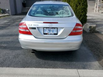 2004 mercedes clk 320 - 2 door coupe - priced for quick sale!!! | cars & trucks | city of
