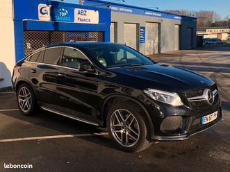 mercedes gle coupe 350d fascination 4 matic 9g-tronic