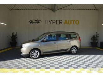 dacia lodgy 1.5 dci 110 fap 7 places prestige