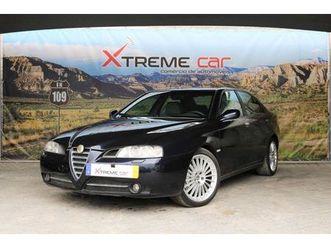 alfa romeo 166 2.4 jtd distinctive automático a gasóleo na auto compra e venda