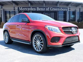 red color 2019 mercedes-benz gle 43 amg coupe 4matic for sale in greensboro, nc 27407. vin