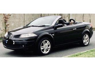 renault megane cabrio 2007
