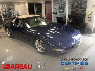 2004 chevrolet corvette convertible blue lemans - convertible / bleu leman