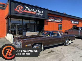 1978-cadillac-eldorado-cars-trucks-lethbridge-kijiji
