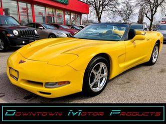 used 2002 chevrolet corvette 6speed convertible