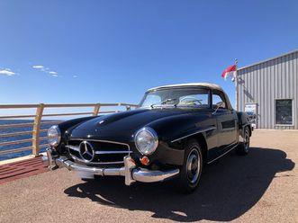 1962 mercedes-benz sl 190
